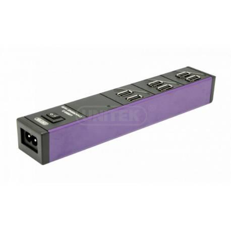 Unitek Y-2152 ładowarka 6x USB 2,4A 36W