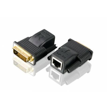 Przedłużacz Mini Cat 5 DVI (1080p @ 15m/1080i @ 20m)