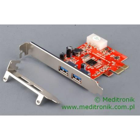 Kontroler Unitek Y-7301 PCI-E 2x USB 3.0