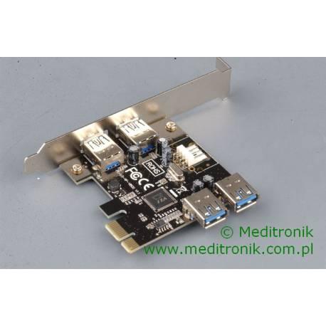 Kontroler PCI-E 4x USB 3.0