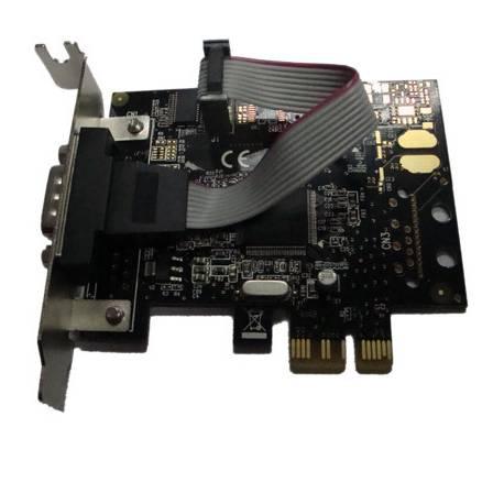 Unitek Y-7502 PCI-E kontroler 1x RS232 Low Profile