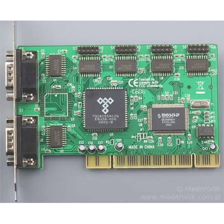 Unitek PCI kontroler 6x RS232