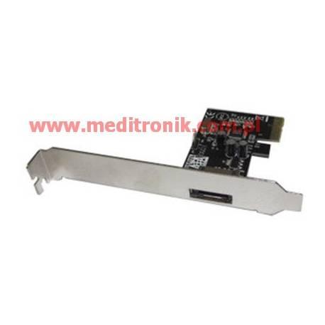 Unitek kontroler PCI-E z jednym portem zewnętrznym SATA