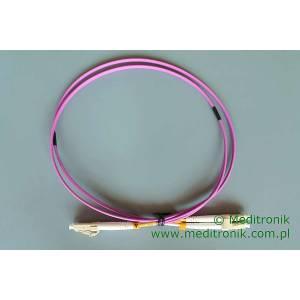 Patchcord światłowodowy LC-LC 50/125 OM4 MM duplex 1m