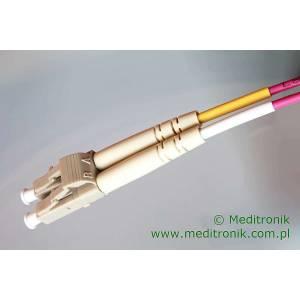 Patchcord światłowodowy LC-LC 50/125 OM4 MM duplex 20m