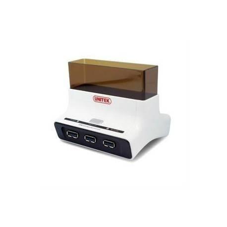 Unitek Y-1074 stacja dokująca HDD na USB 3.0 + hub