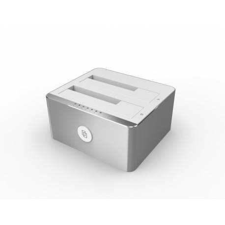 Unitek Y-3026 stacja dokująca alu dual HDD USB 3.0 klon