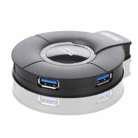 Unitek Y-3041 USB 3.0 hub 4 portowy