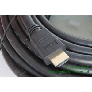 Kabel HDMI HDLink v1.4 pozłacane końcówki, długość 20m