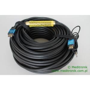 Kabel HDMI HDLink v1.4 wzmacniacz sygnału na USB długość 30m