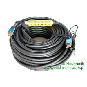 Kabel HDMI HDLink v1.4 wzmacniacz sygnału na USB długość 35m