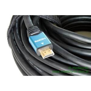 Kabel HDMI HDLink v1.4 wzmacniacz sygnału na USB długość 40m