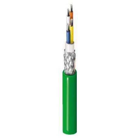Przewód Ethernet przemysłowy, PROFINET, linka, 4x22WG 500m