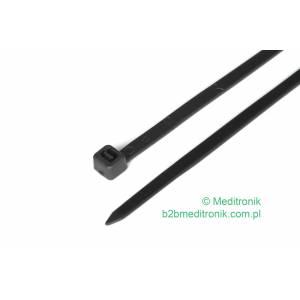 Opaska kablowa zaciskowa 180mm x 4,8mm czarna