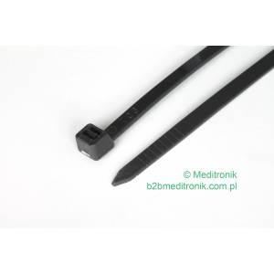 Opaska kablowa zaciskowa 300mm x 4,8mm czarna