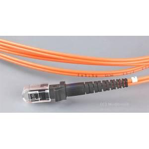 Patchcord światłowodowy MTRJ-MTRJ OM2 50/125μm MM duplex dł.1m wykonywany na zamówienie
