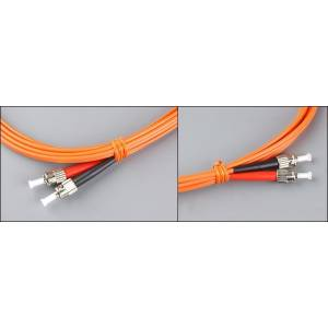 Patchcord światłowodowy ST-ST OM2 50/125μm MM duplex długość na zamówienie