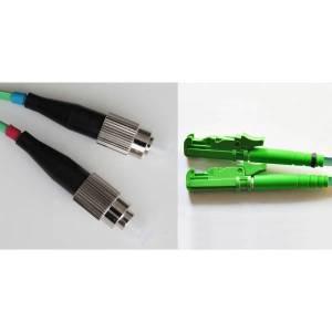 Patchcord światłowodowy E2000-FC OM2 50/125μm MM duplex dł.1m wykonywany na zamówienie