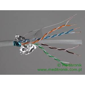 F/UTP kabel kat.6 LSOH 4x2x23AWG 500m