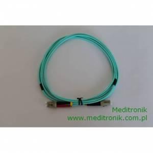 Patchcord światłowodowy LC-LC OM3 50/125μm MM duplex dł.1,5m