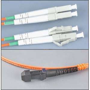 Patchcord światłowodowy LC-MTRJ OM1 62,5/125μm MM duplex dł.10m wykonywany na zamówienie