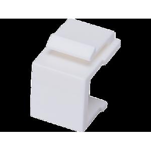 Zaślepka gniazda keystone kolor biały
