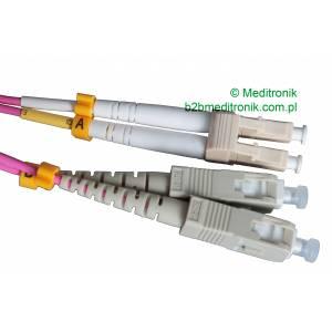 Patchcord światłowodowy LC-SC 50/125 OM4 MM duplex 0,5m