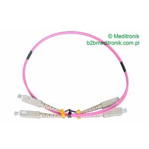 Patchcord światłowodowy SC-SC 50/125 OM4 MM duplex 0,5m