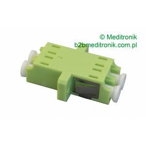 Adapter światłowodowy LC/UPC MM duplex OM5 wielomodowy