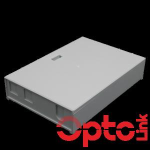 Naścienna przełącznica światłowodowa 4xSC Simplex