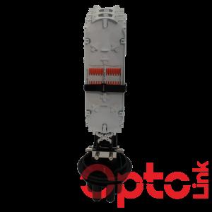 Mufa światłowodowa 72 spawy pionowa z panelem 36xSC Simplex