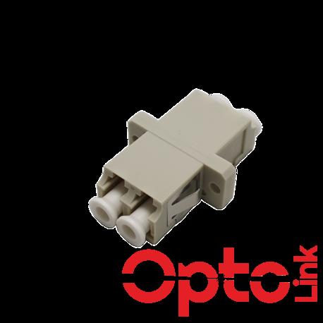 Adapter światłowodowy LC-LC duplex MM