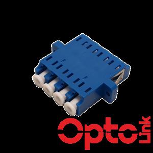 Adapter światłowodowy LC-LC Quad SM