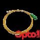 Pigtail światłowodowy SM OS2 SC/APC dł. 2m EASY STRIP