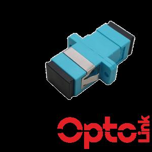 Adapter światłowodowy SC/UPC MM simplex OM3 wielomodowy