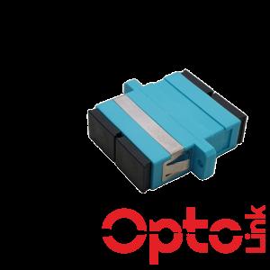 Adapter światłowodowy SC/UPC MM duplex OM3 wielomodowy