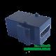 Moduł keystone gniazdo HDMI na gniazdo HDMI czarny