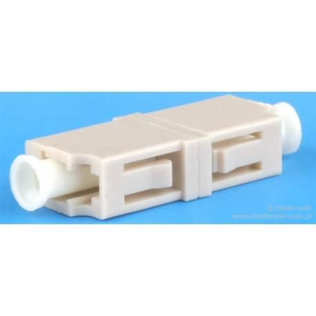 Adapter światłowodowy LC-LC simplex MM