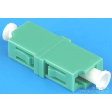 Adapter światłowodowy LC/APC-LC/APC simplex SM