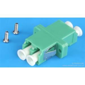 Adapter światłowodowy LC/APC-LC/APC duplex SM SCFootPrint