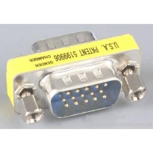 Adapter wtyk DSUB15/1.27mm na wtyk DSUB15/1.27mm