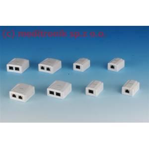 Gniazda natynkowe RJ45 UTP kat.6 montaż LSA+