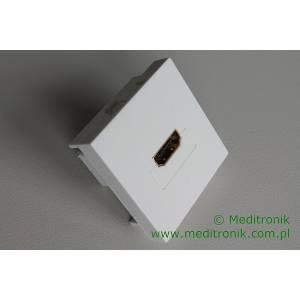 Adapter Mosaic 45x45 moduł HDMI gniazdo na gniazdo