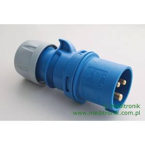 Złącze męskie IEC 60309 na kabel 16A IP44