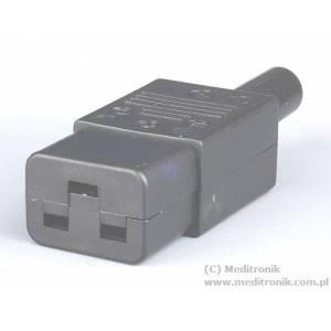Złącze żeńskie C19 na kabel