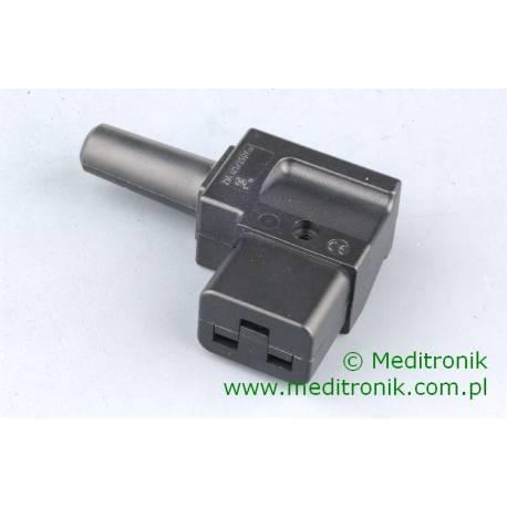 Złącze żeńskie C19 kątowe na kabel 3x1,5mm2