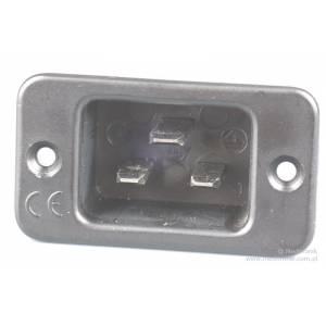 Złącze męskie C20 na panel przykręcane rozstaw otworów 42mm