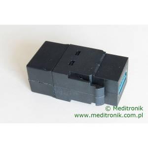 Moduł keystone USB 3.0 gniazdo A na gniazdo A kolor czarny
