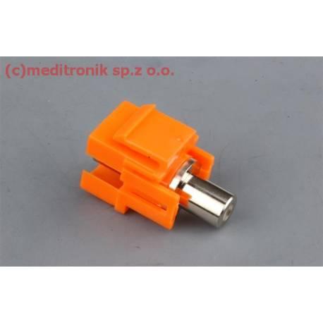 Moduł keystone RCA gniazdo na gniazdo kolor pomarańczowy