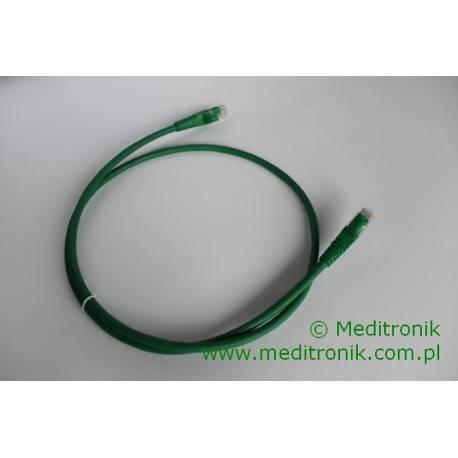 Patchcord UTP kat.6 LSOH dł.1m zielony